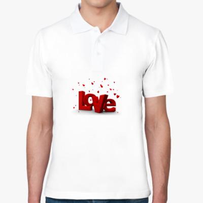 Рубашка поло Love