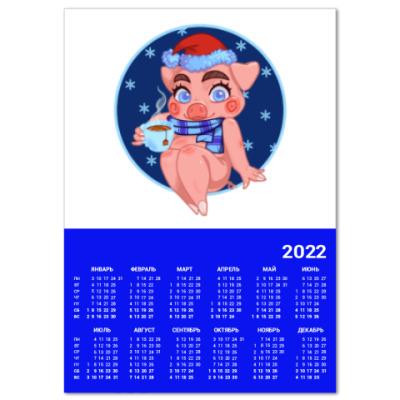 Календарь свинка