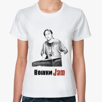 Классическая футболка KJAM BOBSON FAN FMALE