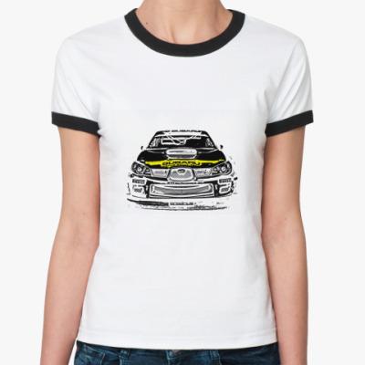 Женская футболка Ringer-T   My Preza