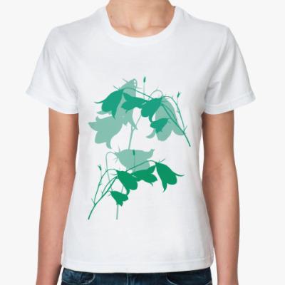 Классическая футболка Колокольчики