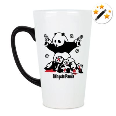 Кружка-хамелеон Gangsta panda