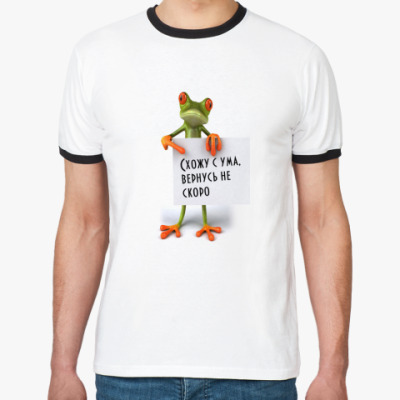 Футболка Ringer-T frog