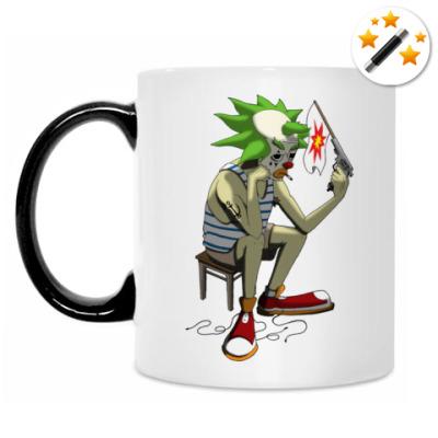 Кружка-хамелеон Клоун