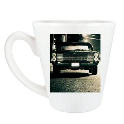 Чашка Латте Автомобиль
