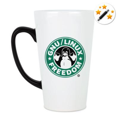 Кружка-хамелеон GNU Linux Freedom