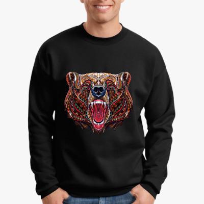 Свитшот Медведь этника