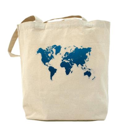 Сумка Карта мира