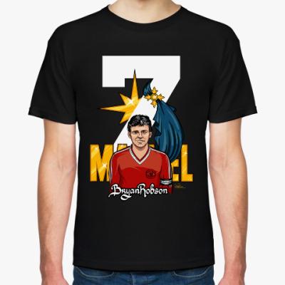 Футболка Капитан Марвел, Stedman, черная