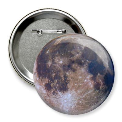Значок 75мм Лунариум