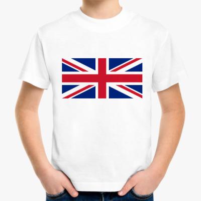 Детская футболка  Великобритания