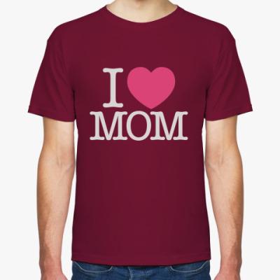 Футболка I love MOM