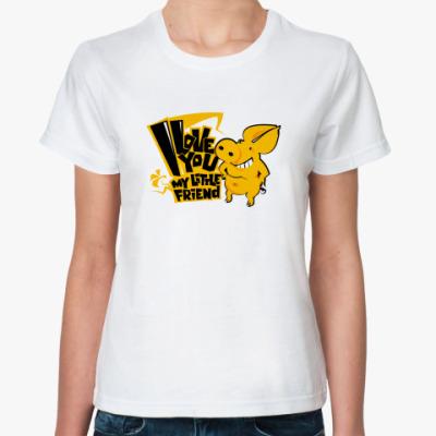 Классическая футболка pig