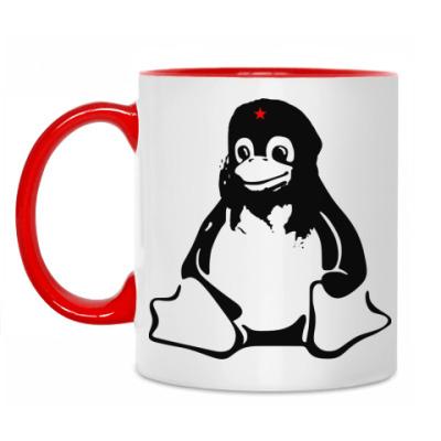 Кружка Linux Che Guevara