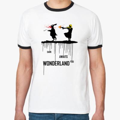 Футболка Ringer-T Dark Wonderland