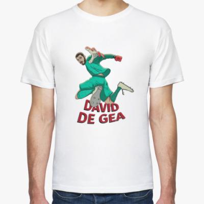 Футболка Давид Де Хеа, Stedman, бела