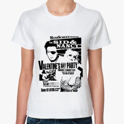 Классическая футболка Сид и Ненси