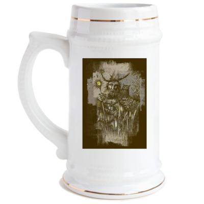 Пивная кружка Ведьмак