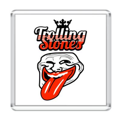 Магнит  Trolling Stones
