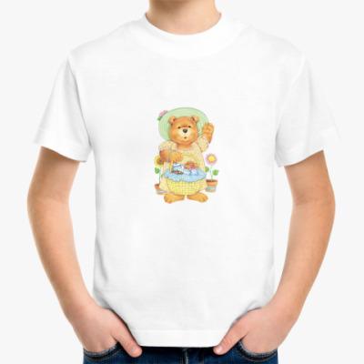 Детская футболка Медведица