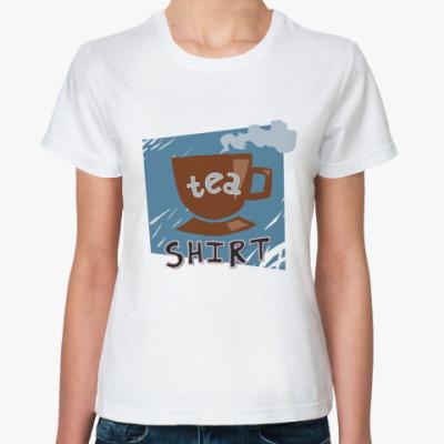 Классическая футболка  Tea-shirt