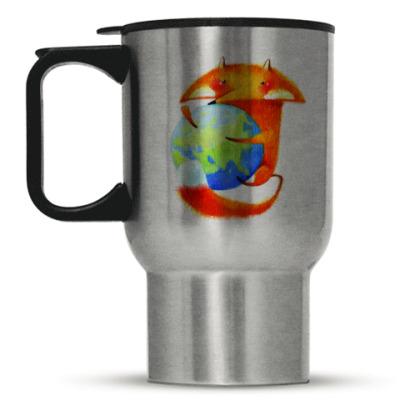 Кружка-термос Кружка- Firefox