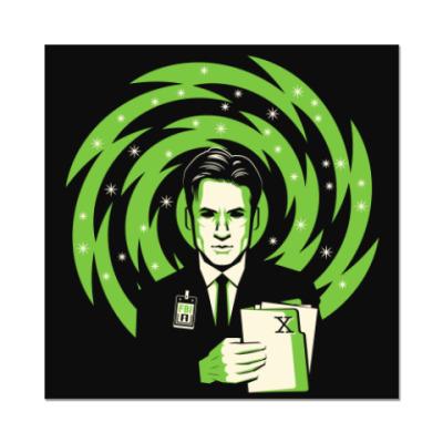 Наклейка (стикер) The X-Files Fox Mulder