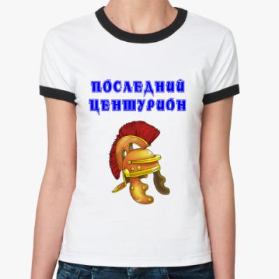 Женская футболка Ringer-T Рори