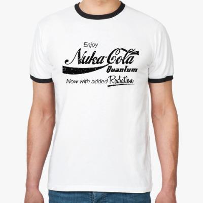 Футболка Ringer-T Nuka Cola