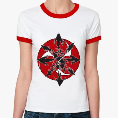 Женская футболка Ringer-T  Sepultura
