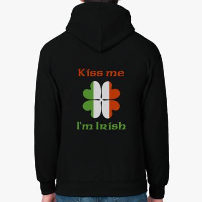 Толстовка худи 'Kiss me...