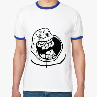 Футболка Ringer-T Poker face