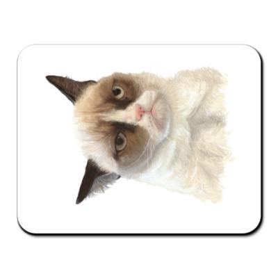 Коврик для мыши Grumpy Cat