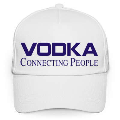 Кепка бейсболка Vodka Connecring People