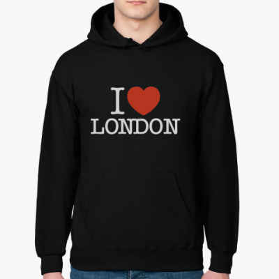 Толстовка худи I LOVE LONDON
