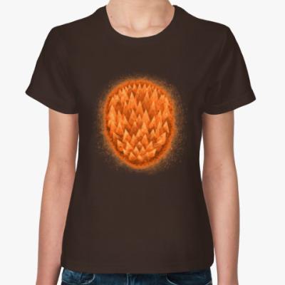 Женская футболка тепло