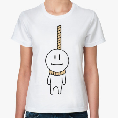 Классическая футболка  Hang-Man