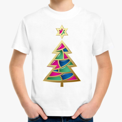 Детская футболка Елочка