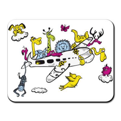 Коврик для мыши Самолет