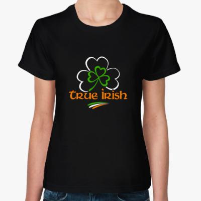 Женская футболка True irish