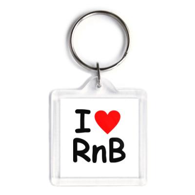 Брелок I love Rnb