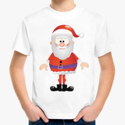 Детская футболка Санта