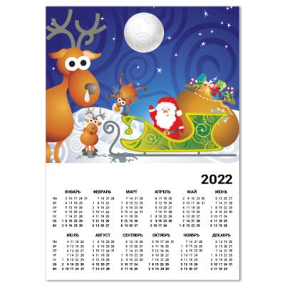 Календарь Новый год