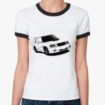 Женская футболка Ringer-T  STI