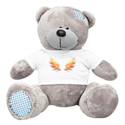 Плюшевый мишка Тедди Fire Wings