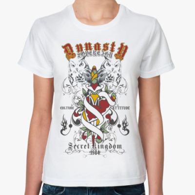 Классическая футболка  Dynasty