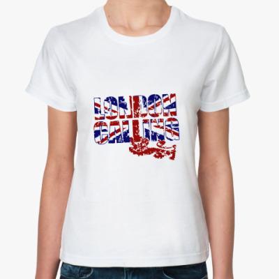 Классическая футболка London Calling