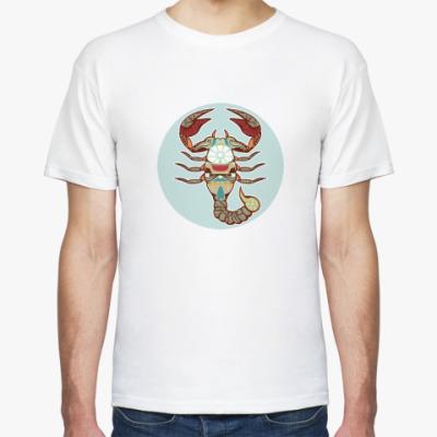 Футболка  Знак Зодиака Скорпион