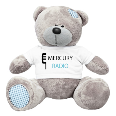 Плюшевый мишка Тедди Мишка Mercury Radio