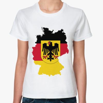Классическая футболка Германия